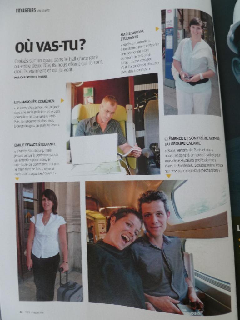 TGV magazine septembre