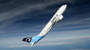 A300ZERO-G-vue exterieure en montee-Novespace