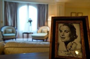 La suite Grace Kelly, inauguré en 2010 par le fils de la Princesse de Monaco, Son Altesse Sérénissime Albert II.
