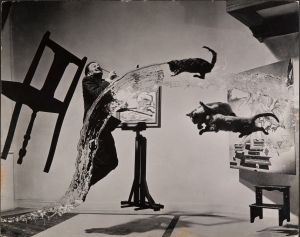 MEL_HALSMAN_Dali Atomicus 1948 (c) 2013 Philippe Halsman Archive Magnum Photos_Images Rights of Salvador Dali reserved