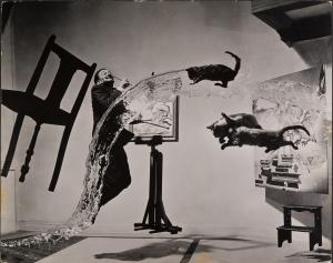 MEL_HALSMAN_Dali Atomicus 1948 (c) 2013 Philippe Halsman Archive Magnum Photos_Images Rights of Salvador Dali reserved