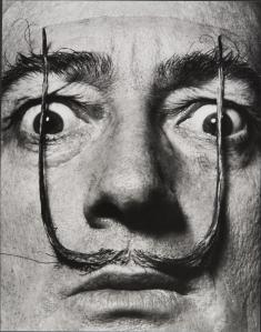 MEL_HALSMAN_Moustaches defendent lentree de ma personne 1954 (c) 2013 Philippe Halsman Archive Magnum Photos_Images Rights of Salvador Dali reserved