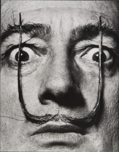 MEL_HALSMAN_Moustaches defendent lentree de ma personne 1954 (c) 2013 Philippe Halsman Archive Magnum Photos_Images Rights of Salvador Dali reserved