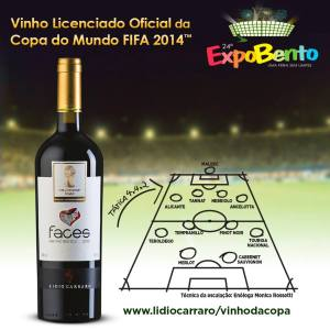 Vinho Copa do mundo Lidio Carraro