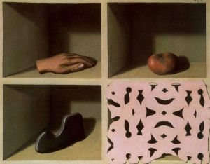 Rene Magritte, Le musee d'une nuit, 1927