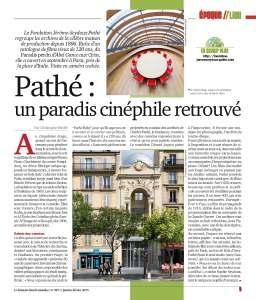 Fdlm Fondation Pathé Epoque-Lieu