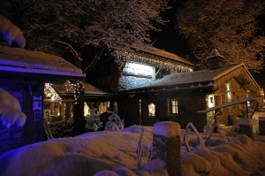 labouitte chalet hiver