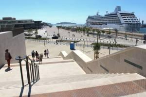 Marseille nouvel escalier Major relie le Panier au J4