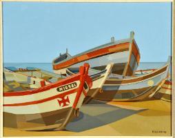 Italo violante, barcos, 1976
