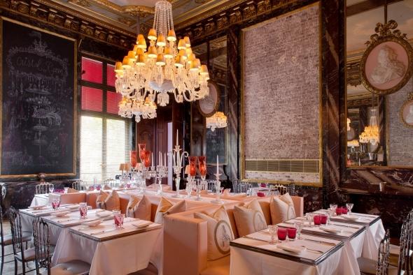 Restaurant - Cristal Room ©Jérôme Mondière