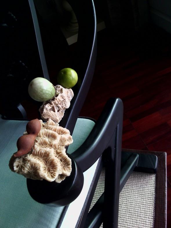 Fauteul corail tamarin citron, KohSamui