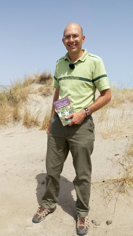 Benoit Larroque auteur Guide ONF Flore du littoral sableux mediterraneen