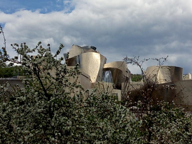 Guggenheim en fleurs