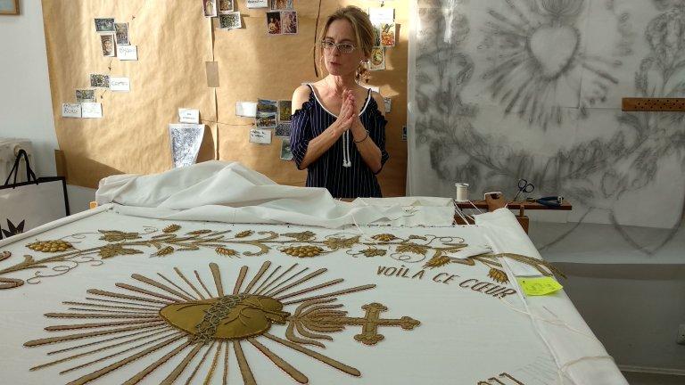Le Bégonia D Or rochefort : demoiselles brodeuses d'or, loge de l'accord parfait
